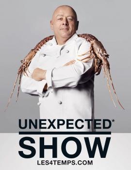 Les 4 Temps – Unexpected Show avec le Chef Thierry Marx